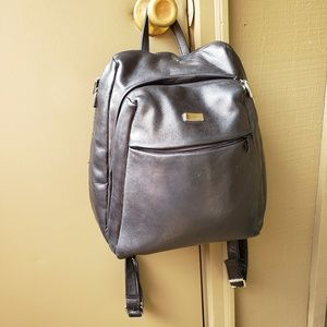 Perlina leather backpack/purse